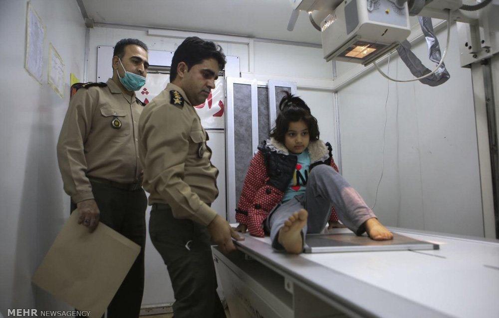 تصاویر |بیمارستان صحرایی سرپلذهاب؛ یازده روز پس از گذشت زلزله ۷.۳ ریشتری