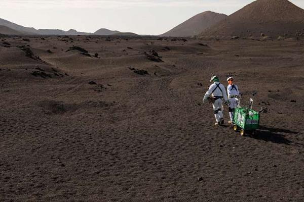 فیلم | شبیهسازی سفر اکتشافی به مریخ در جزایر قناری
