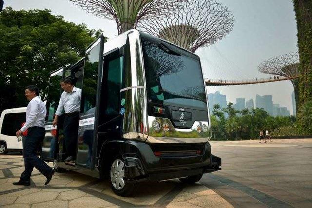 راهاندازی اتوبوسهای بدون راننده در سه شهر سنگاپور