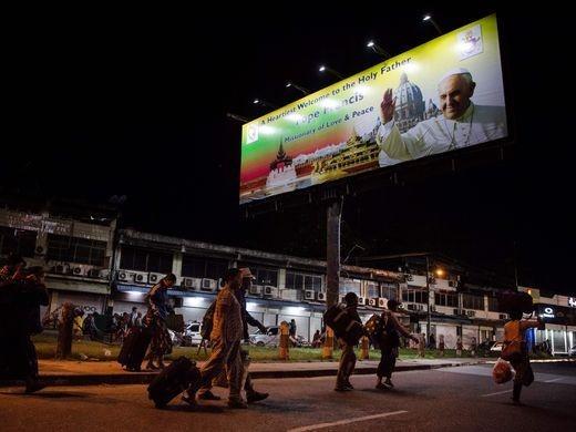 تصاویر | سفر پاپ فرانسیس به میانمار برای بررسی وضعیت آوارگان روهینگیا