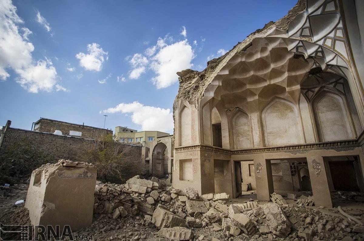 تصاویر   تخریب یک خانه تاریخی در اصفهان توسط افراد ناشناس