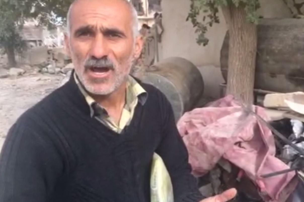 فیلم | وقتی بیمه بدنه پاسخگوی خودروهای لهشدهٔ زیر آوار زلزله نیست