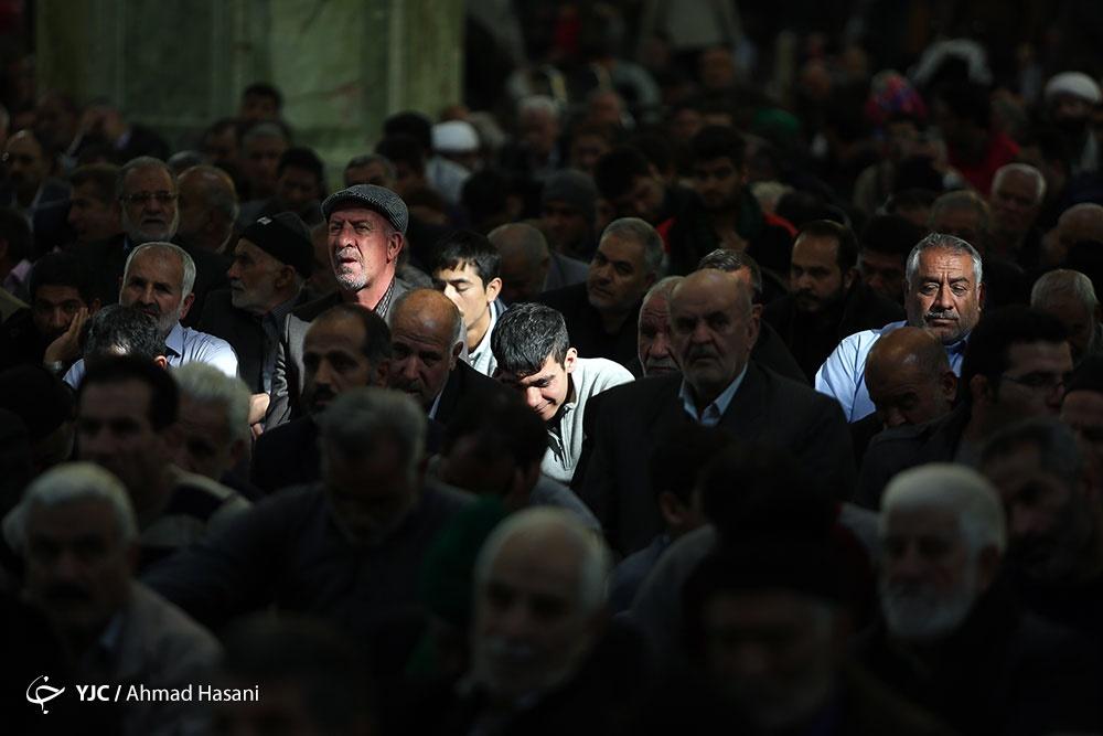 تصاویر   مراسم شهادت امام حسن عسکری(ع) در حرم مطهر رضوی