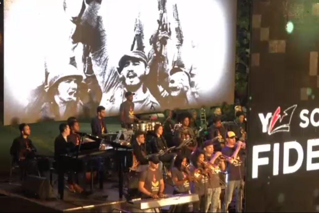 فیلم | نخستین سالروز مرگ فیدل کاسترو در کوبا