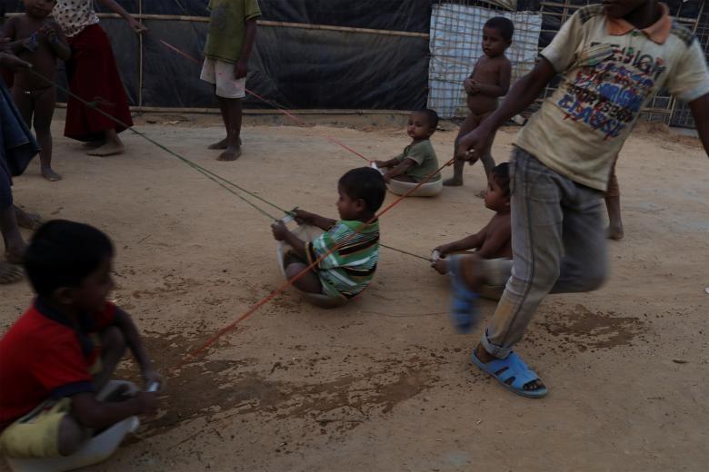 تصاویر | آخرین وضعیت کودکان آواره روهینگیایی در بنگلادش