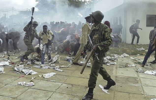 تصاویر   تحلیف رئیسجمهور کنیا در میان اعتراضات مردمی