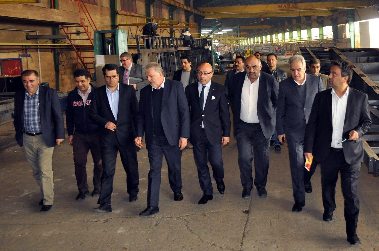 بازدید هیات تجاری آلمانی از واحدهای تولیدی آذربایجانغربی