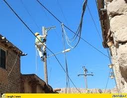 ساماندهی اساسی 14 کیلومتر شبکه برق فشارمتوسط هوایی خروجی کاوند