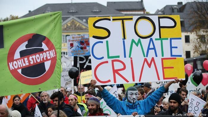 تصاویر | اعتراض آلمانیها به تداوم استفاده از سوخت زغال سنگ در نیروگاهها