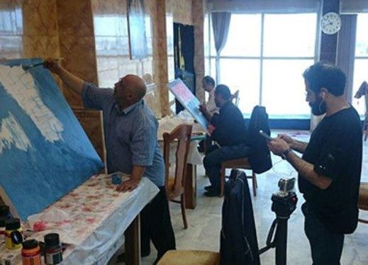 خلق آثارِ هنرمندان ایرانی در جوار مسجد کوفه