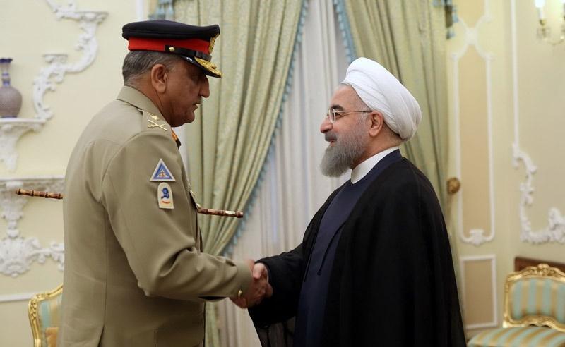 تصاویر   دیدار فرمانده کل ارتش پاکستان با رئیسجمهور