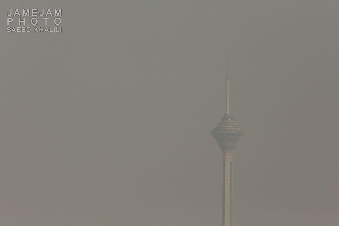 ادامه روند آلودگی هوا برای شانزدهمین روز