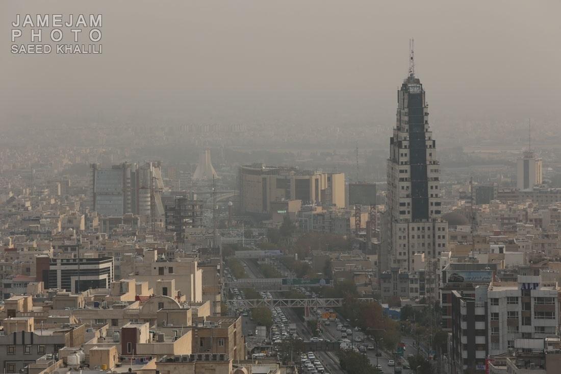 امروز هوای سالم تهران ناسالم میشود