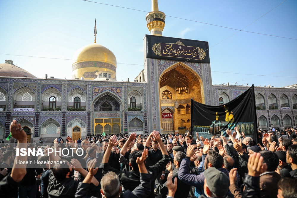 تصاویر | عزاداری اربعین حسینی در حرم مطهر رضوی(ع)