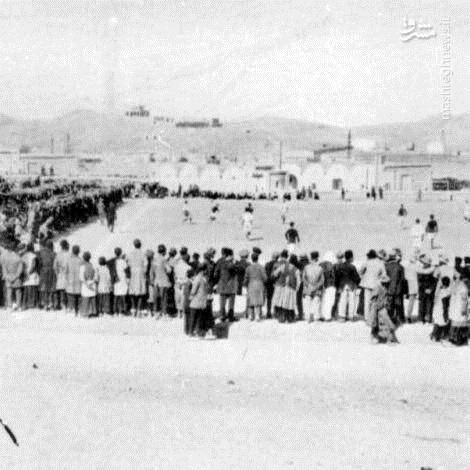 عکس | اولین مسابقه فوتبال ایران در زمان احمدشاه قاجار