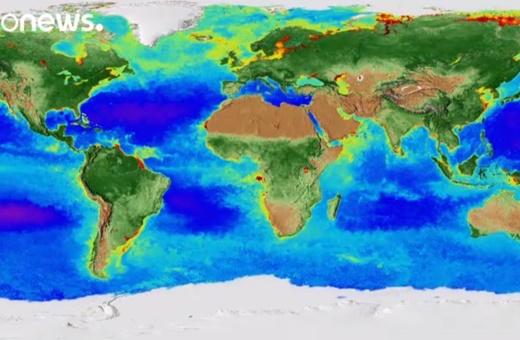 فیلم | دگرگونی ۲۰ سالۀ کره زمین در ویدئوی دو دقیقهای ناسا
