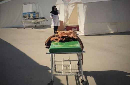 بیمارستان سرپلذهاب؛ ۱۰دقیقهاول زلزله، از مردهها پوشیدهشد