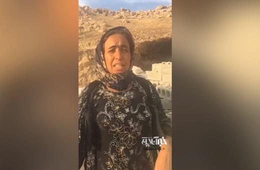 فیلم | روایت یک زن از لحظه زلزله در کرمانشاه | هنوز هم میترسیم و استرس داریم
