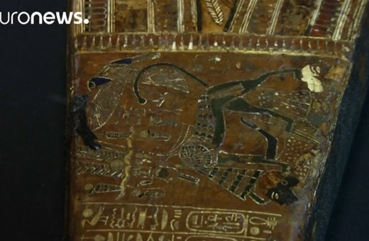 فیلم | نمایش بخشی از گنجینه فرعون توتآنخمون برای اولین بار