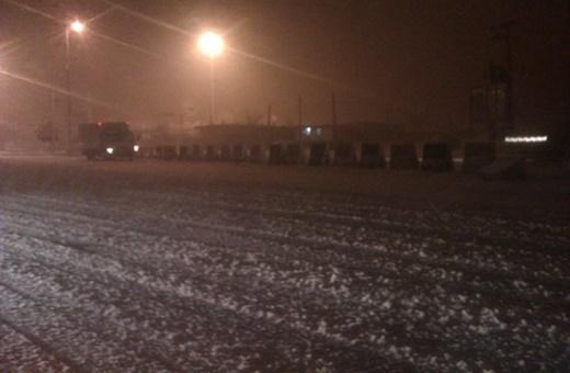 فیلم | مسدود شدن گردنه «چری» کوهرنگ در پی بارش سنگین برف