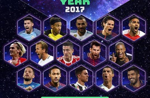 نامزدهای تیم منتخب سال اروپا مشخص شدند