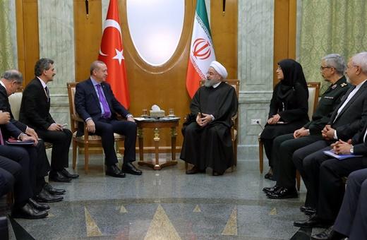 روحانی به اردوغان: تا محو کامل تروریسم از منطقه فاصله داریم
