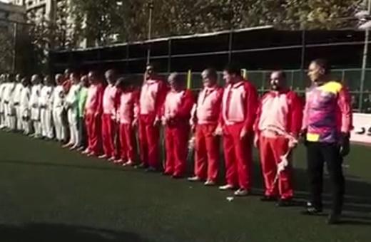 فیلم | فوتبال نمایندگان مجلس و منتخب رسانه برای زلزلهزدگان؛ پزشکیان و مطهری در تیم مجلس