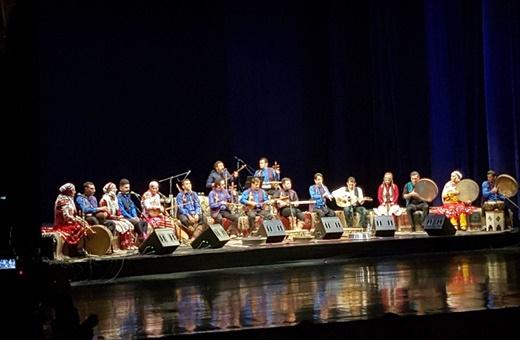 همنوایی اهالی موسیقی نواحی با مردمِ کُرد