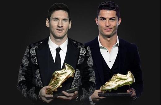 برابری رونالدو و مسی در کسب کفش طلای اروپا