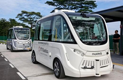 راه اندازی مرکز آزمایش خودروهای خودران در سنگاپور / عکس