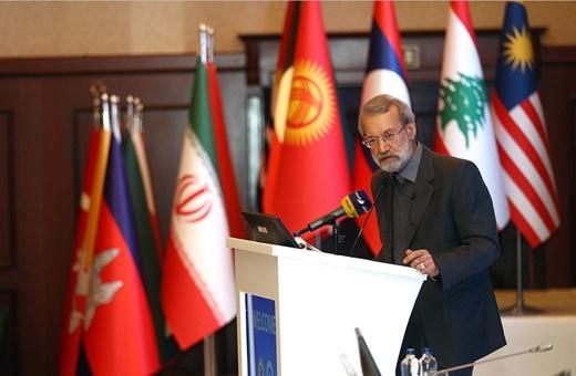 لاریجانی: تروریسم به توسعه و حیثیت آسیا لطمه زد