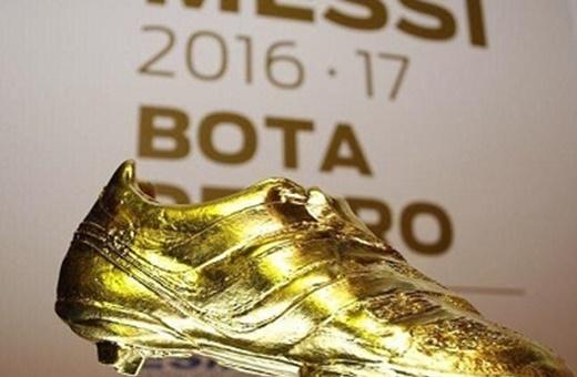 کفش طلای سال 2017 به مسی رسید