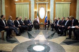حسن روحانی,ایران و روسیه