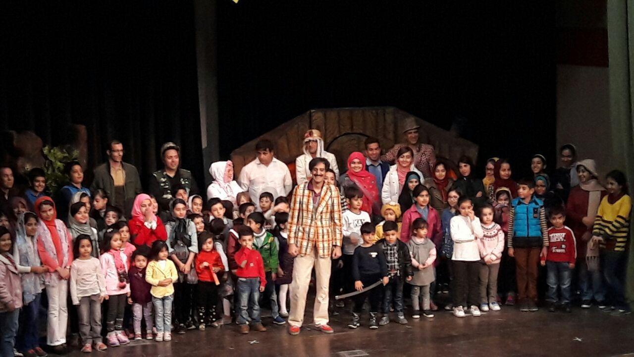 تپش قلب تئاتر کودک و نوجوان در همدان