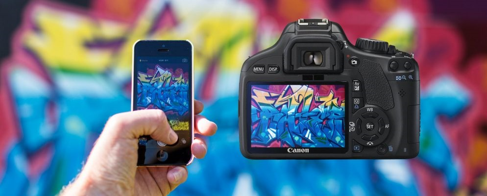 شکست دوربینهای حرفهای دیاسالآر در مقابل موبایلها