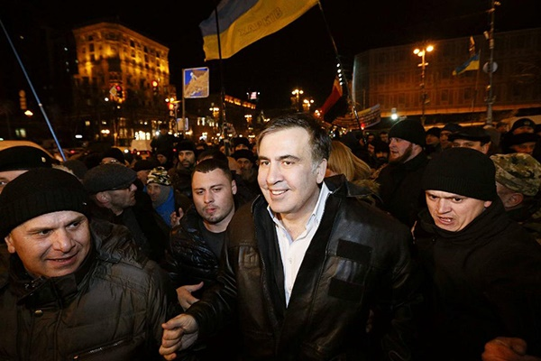 فیلم | اوکراین؛ میخائیل ساکاشویلی آزاد شد