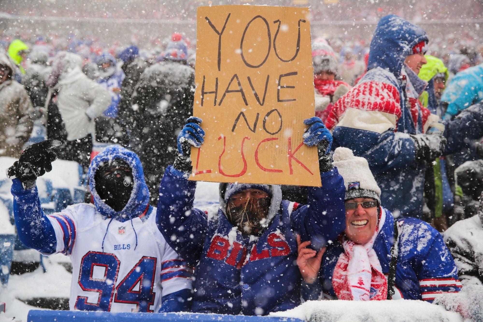 تصاویر | وفادارترین طرفداران جهان در لیگ فوتبال آمریکایی!
