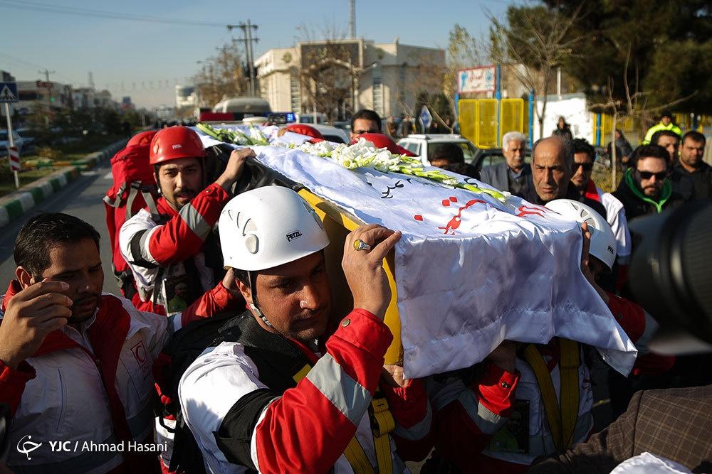 تصاویر | تشییع پیکر آخرین کوهنورد حادثه اشترانکوه در مشهد
