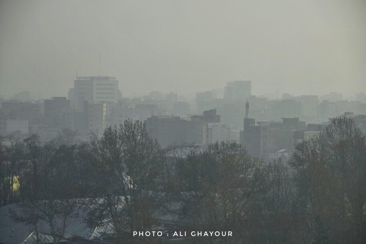 شاخص آلودگی هوای ارومیه به ۱۶۲ رسید/ مدارس بعدازظهر یکشنبه هم تعطیل شد