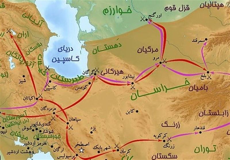 معماهای ایران؛ جاده شوش-همدان در دوره هخامنشی ۱۳۵کیلومتر کوتاهتر از جاده فعلی بود!