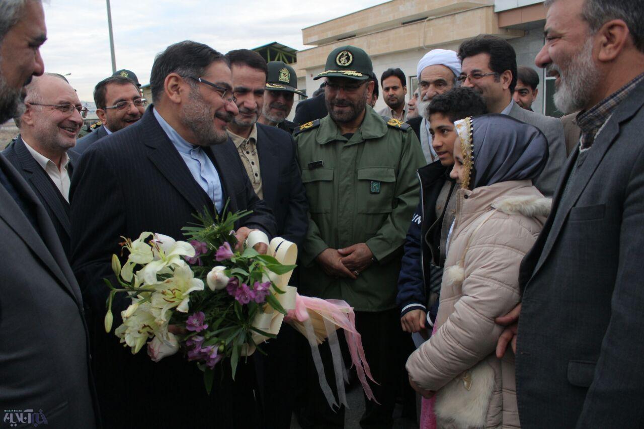 دبیر شورای عالی امنیت ملی کشور وارد سنندج شد