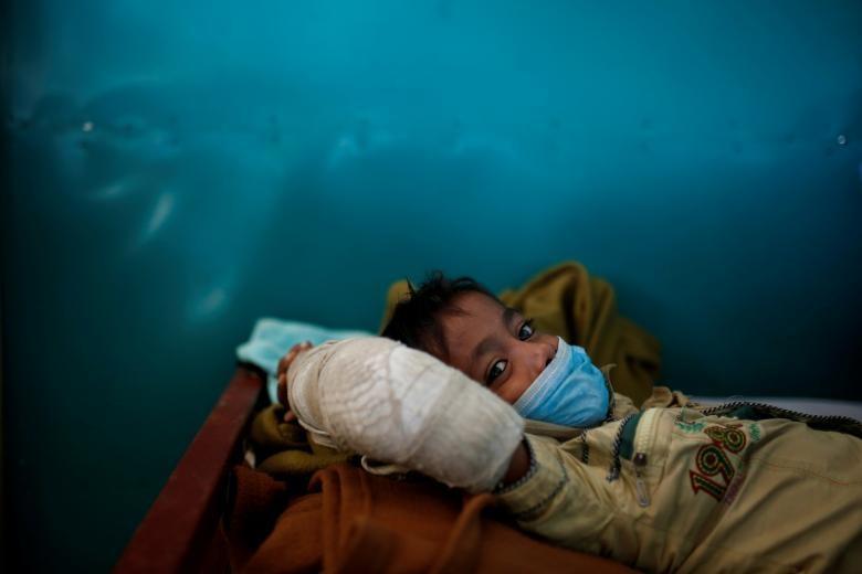 تصاویر | وضعیت اسفبار مهاجران روهینگیا در بنگلادش