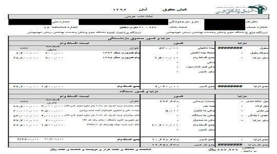 رفع ابهام در فیش حقوقی بازنشستگان/ همه کسورات در یک فیش حقوقی صادر میشود