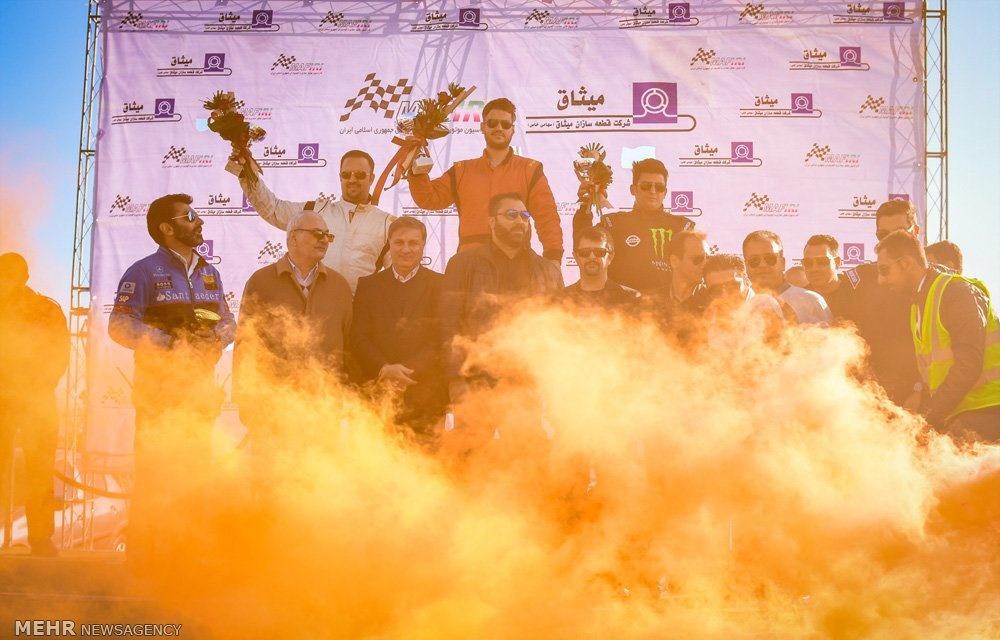 تصاویر | هیجان در مسابقات دریفت قهرمانی کشور