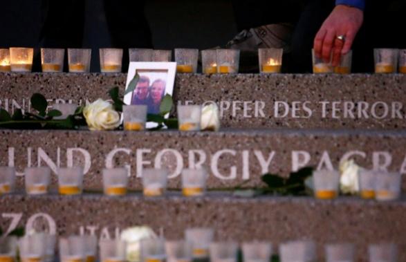 تصاویر   سالگرد حمله تروریستی بازار کریسمس برلین با حضور آنگلا مرکل
