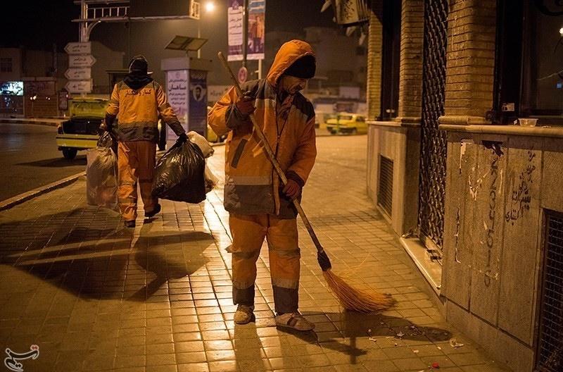 رفتگرهای این شهر در مقابل کرونا واکسینه میشوند