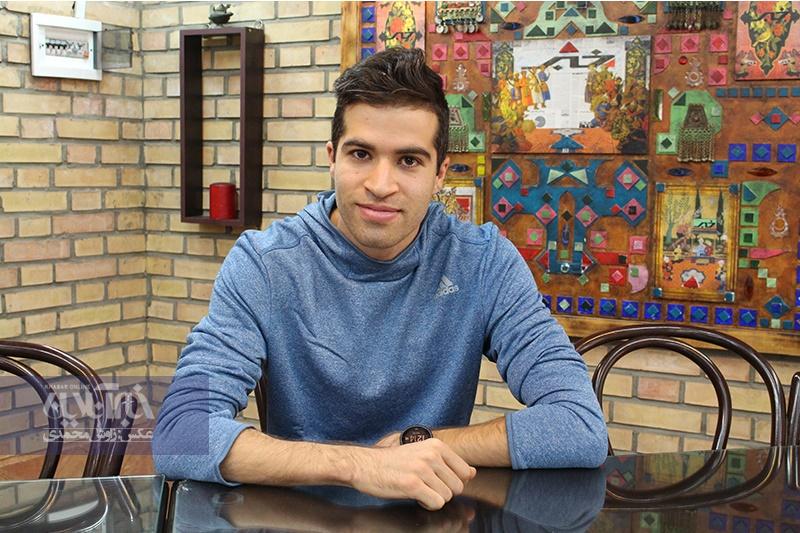 اقدام زیبای سریعترین مرد تاریخ ایران