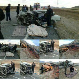 یک کشته در تصادف محور بروجن - لردگان