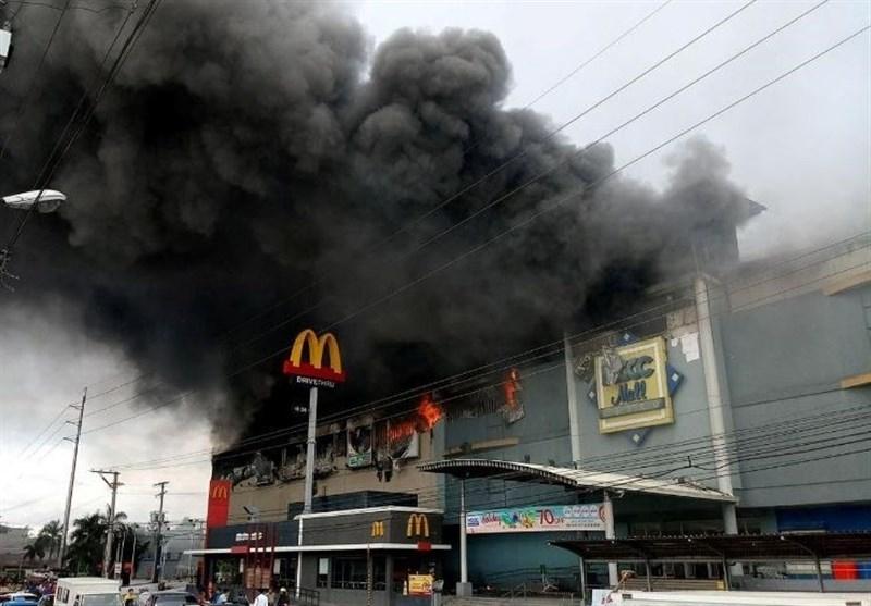 فیلم | ۳۷ کشته در آتشسوزی مرکز خرید در فیلیپین