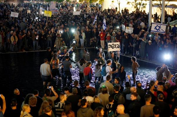 تصاویر | «راهپیمایی شرم» در تلآویو علیه نتانیاهو
